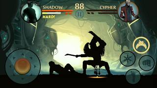 Shadow fight 2 (shadow vs cypher) HD gamplay