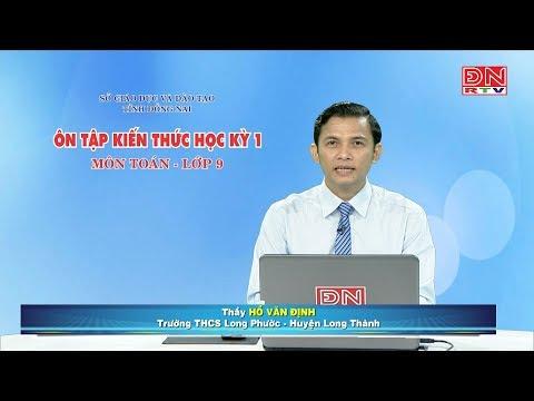 Ôn tập kiến thức HK1- Môn Toán - lớp 9 (05-03-2020)