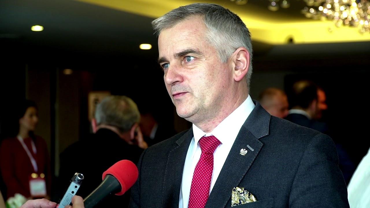 Poseł na Sejm Andrzej Maciejewski z życzeniami dla ZPP i powiatów