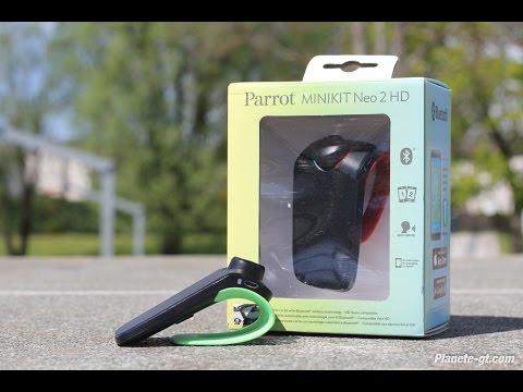 Test : Parrot Minikit Neo 2 HD + CONCOURS | Planete-gt.com