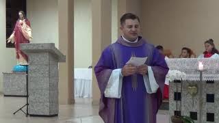 Canto de Aclamação, Evangelho e Homilia - Missa do 5º Domingo da Quaresma (06.04.2019)