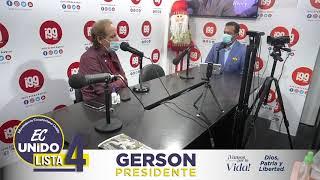 Entrevista a Gerson Almeida en Radio I99 Guayaquil.