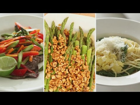 3 Asparagus Dishes for Spring