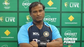 We set goals which were achieved: Powar | Australia v India 2021