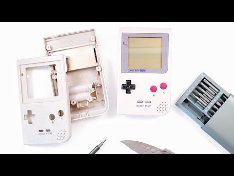 Fixing a Broken GameBoy Pocket from Ebay!