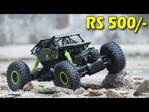 Unboxing And Testing | RC ROCK CRAWLER 4WD RALLY CAR | Technical Ninja