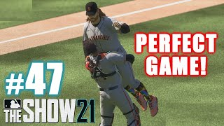 BEST PERFECT GAME IN MLB HISTORY! | MLB The Show 21 | Road to the Show #47