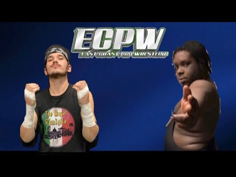 ECPW Tony Chini with Joey Angelo vs. Shemar 11/20/19