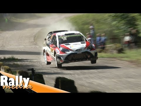 WRC Rallye Deutschland 2017 + crash! - Best of by Rallymedia