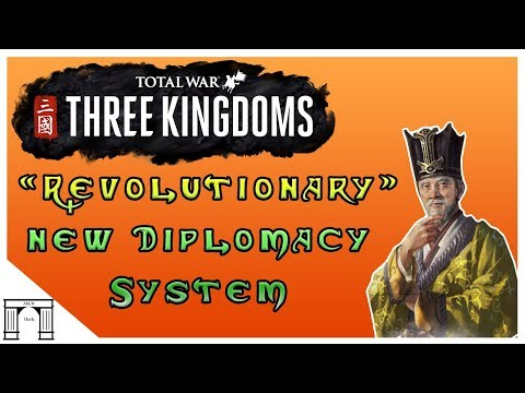 Revolutionary New Diplomacy System in Three Kingdoms Total War,