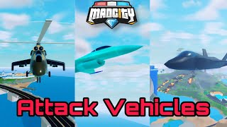 Mad City Attack Vehicles