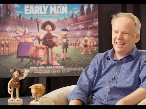 Nick Park talks about Aardman Studios and making EARLY MAN - The new stop motion animation
