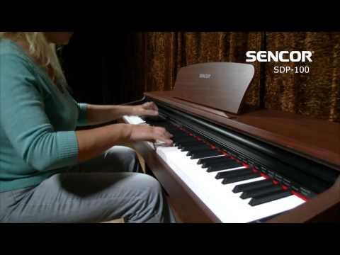 SENCOR SDP 100 BK Digitální piano