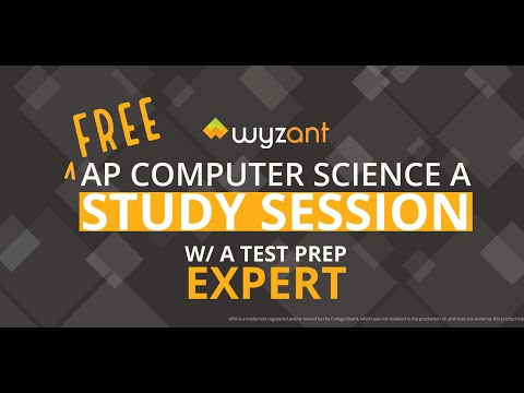 Wyzant AP Computer Science A Exam Study Session - YouTube