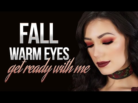 Fall Warm Eyes Chatty GRWM Makeup Tutorial Victoria Lyn Beauty