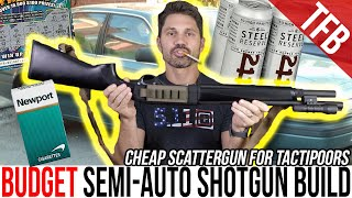 Poverty-Tier Budget Semi-Auto Tactical Shotgun Build