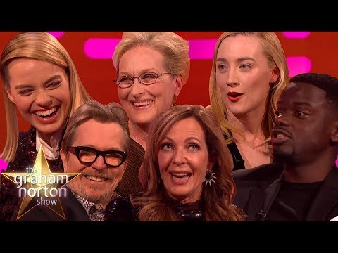OSCARS 2018 NOMINEES on The Graham Norton Show