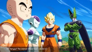 Dragon Ball FighterZ - Cell Roasts Android 16
