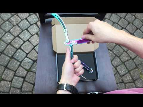 KnifeBox: How To Use A Balisong! Butterfly Knife Basics