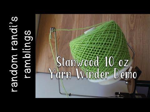 Stanwood Needlecrafts Yarn Winder Demo || Fiber Arts Product Testing