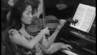 Kyung Wha Chung plays Franck violin sonata (Mov 4)