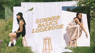 Summer Lookbook + Behind The Scenes