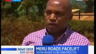 Good news to Meru residents as construction of seven rural roads set to commence