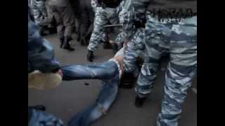 Столкновение с полицией на Болотной