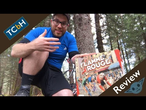 The Cardboard Herald reviews Flamme Rouge