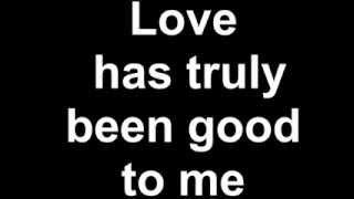 Luther Vandross - So Amazing (Lyrics)