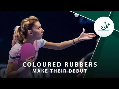 Pink Rubber on Table Tennis Rackets - Yes or No?