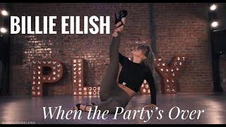 """Billie Eilish   """"When The Party's Over""""   Nicole Kirkland Choreography"""