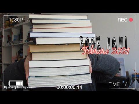 BOOK HAUL || Febrero 2021  Compras, colaboraciones y regalos