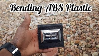 How To Bend ABS Plastic EASY DIY