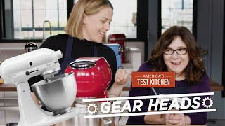 Gear Heads | Which Stand Mixers Can Handle Cakes, Breads, and More?