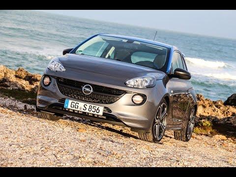 2015 Opel Adam S Test - Fahrbericht - Soundcheck - Klang - 0-100 km/h
