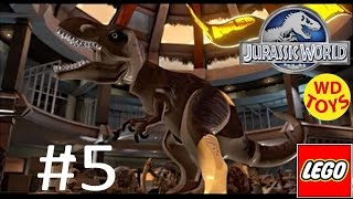 Jurassic World Lego Game Level 5: The Visitor Center Gameplay Walkthrough  By WD Toys