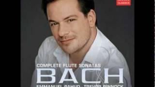 Emmanuel Pahud Bach Sonata in g minor (1/2) bwv 1020
