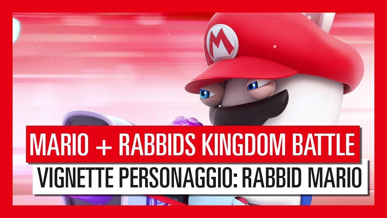 Mario + Rabbids Kingdom Battle - Vignette Personaggio: Rabbid Mario