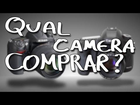 Fotografia - Qual câmera devo comprar? Câmeras para iniciantes