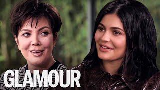 Kylie & Kris Jenner On Baby Kendall's Hilarious Hairdressing Skills    GLAMOUR UK