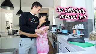 he officially moved in!!! + THE VLOGS ARE BACK!!
