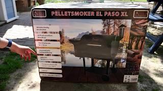 ACTIVA Grill Pelletsmoker El Paso Xl Zusammenbau - Vorstellung