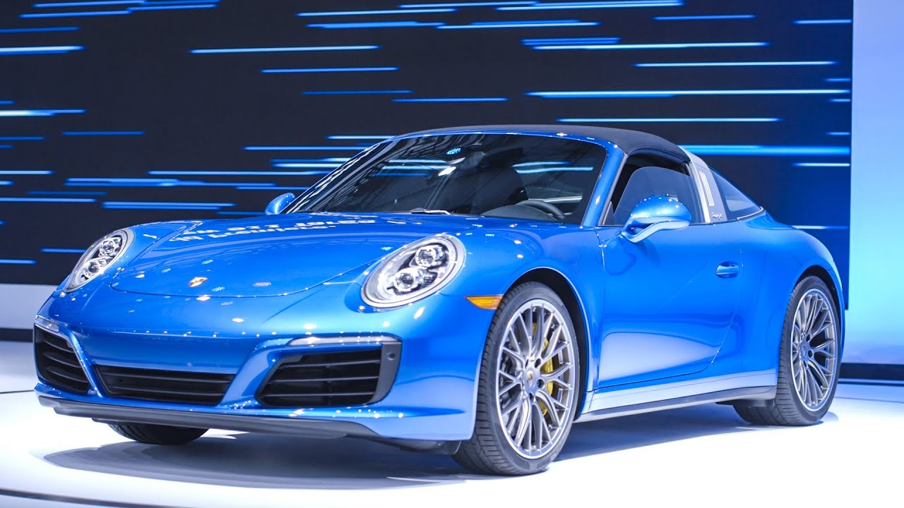The Porsche 911 Targa 4S is a speed demon's dream thumbnail