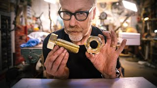Adam Savage's One Day Builds: Giant Nut and Bolt!