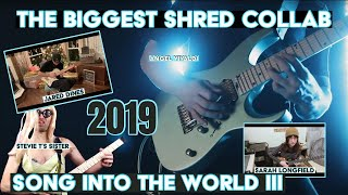 the biggest shred collab song in the world III (2019)