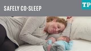 How to safely co-sleep with your baby