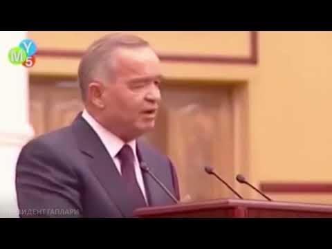 Ислом Каримов: Мени ўзгартиролмайсан, мен шунақа одамман