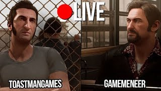 ONTSNAPPING UIT GEVANGENIS met Emre/ToastmanGames (A Way Out)