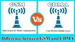 GSM vs CDMA - Difference between CDMA and GSM